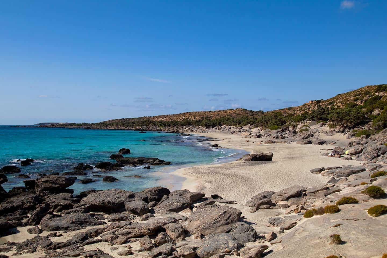 Best beaches in Greece Image of Kedrodasos beach on Crete