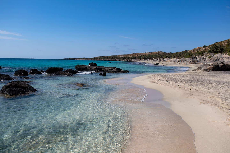 Best beaches near Chania Image of Kedrodasos Beach Crete