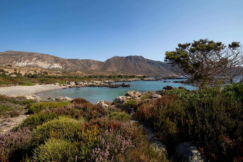 Kedrodasos Beach Crete Image of one of the smaller bays at Kedrodasos