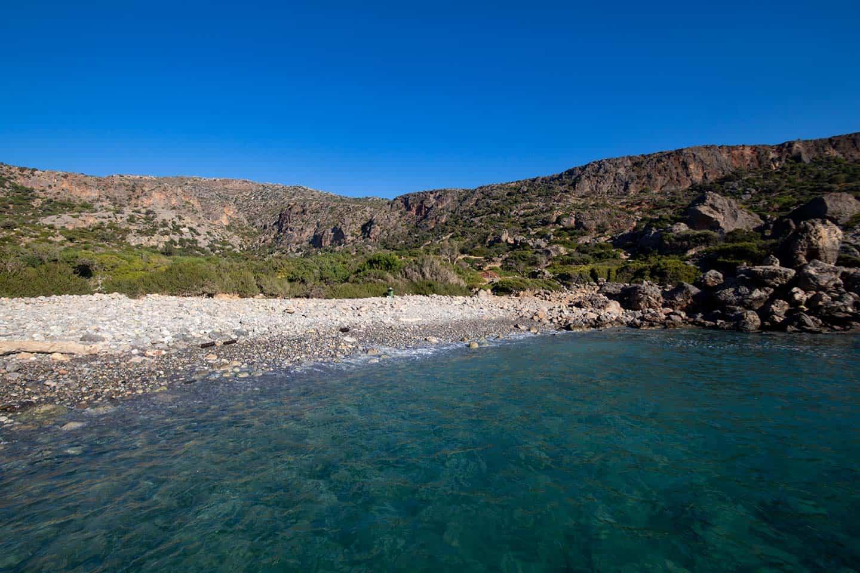 Paleochora holidays Image of Lissos beach near Sougia Crete