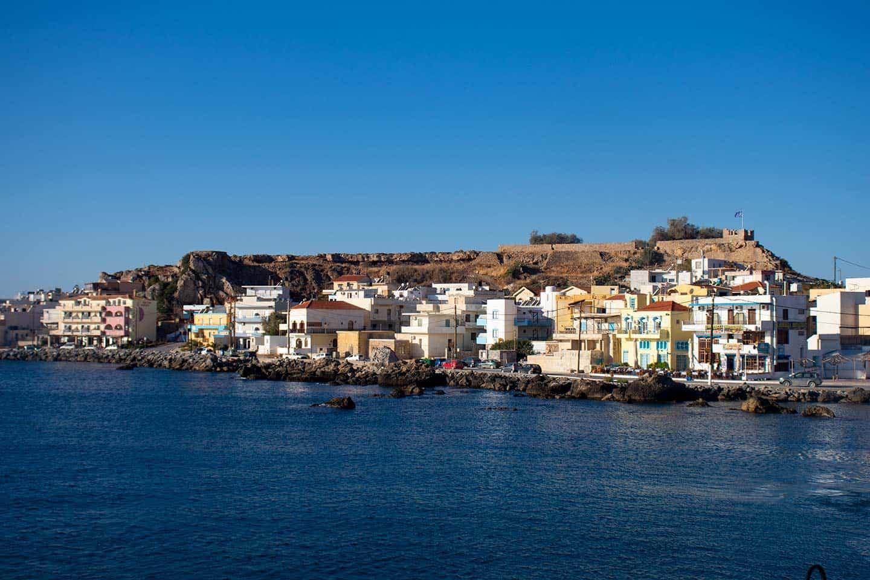 Paleochora Crete Image of Paleochora town in Crete