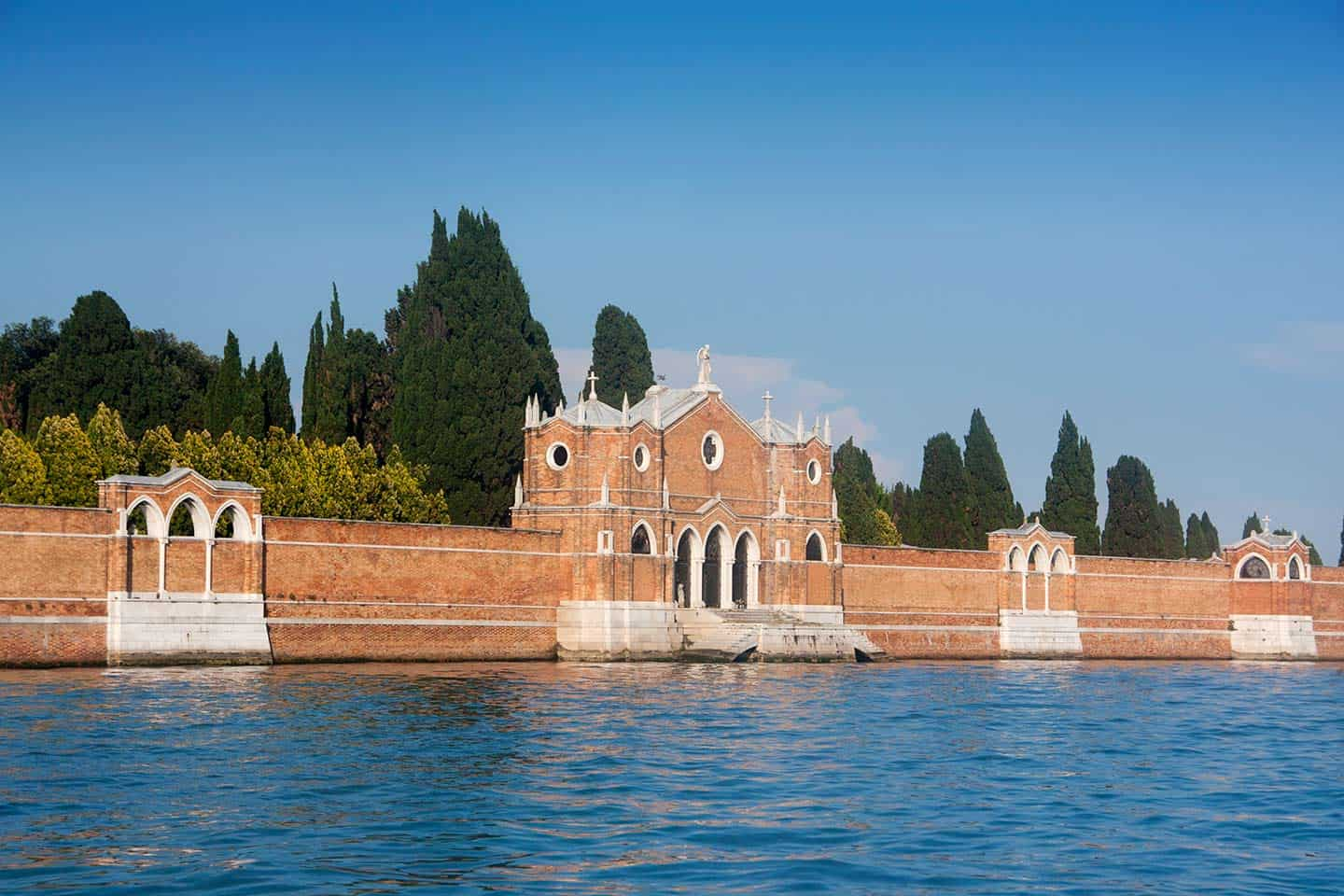 Image of Venice's cemetery on the island of San Michele