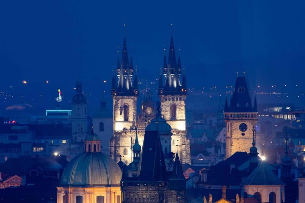 Best Viewpoints In Prague Delve Into Europe